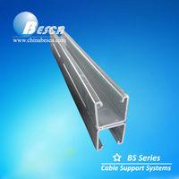 pre-galvanized unistrut steel channel standard sizes (UL cUL NEMA IEC SGS ISO CE)