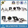 PKD cutting tools for steel, aluminum, cast iron