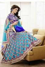 Designer Embroidered Bridal Lehenga-Wedding Lehenga Choli-Wholesale Bollywood Ghagra choli