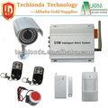 Allarme di sicurezza, monitoraggio prendendo foto, trasmissione senza fili, mms ricevuto. Gsm-av mms sistema di allarme visivo