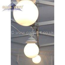 240 volt Garden 4 Globe Light Set