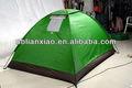 três salas de grande barraca de camping