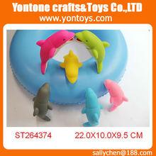 soft vinyl bellow dolphin toys,bellow animal toys