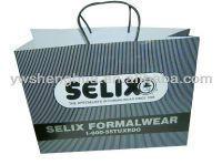 wholesale paper shopping bag/raw materials of paper bag/kraft paper bag making machine
