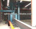 Q69 sereis de la placa de acero/h haz de perfiles de acero granallado de limpieza de equipos