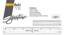Signature Artist Plastic Ruler