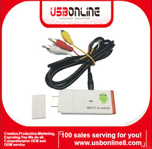 2014 New ANDROID 4.0 ARM Cortex-A8 HDMI Dongle(white)