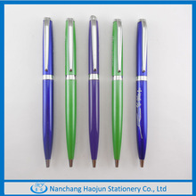 2014 Heavy Logo Customized Copper Metal Ball Pen