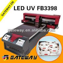 PET lenticular plastic printing machine with white ink,photo/label/poster printer machine 3D Lenticular Poster UV Printing