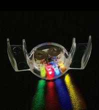LED flashing teeth