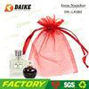 Beautiful Mini Organza Red Drawstring Bags DK-LA382