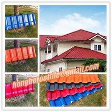ASA corrugated plastic roofing tile spanish style