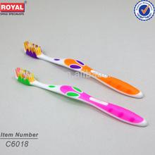 Yangzhou toothbrush brand names/professional tooth brush manufacturer