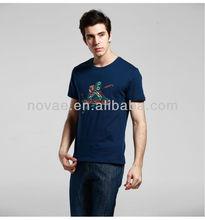 fashion logo men's cotton t-shirt/custom t-shirt