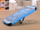 Combo PC & Silicone Double Protect Stand Case Cover for Samsung Galaxy S4 i9500