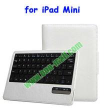Leather Case Bluetooth Keyboard for iPad Mini