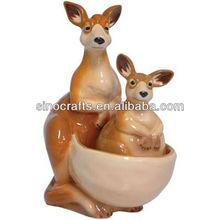 2013 new design Kangaroos Magnetic Salt And Pepper Shakers souvenir