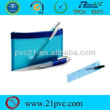 recycle plastic PVC pencil case