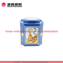 Travelling/hiking bring storage box, tin box