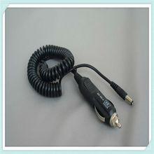 car cigarette lighter plug to dc plug cable with led light