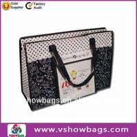 2013 fashion aminated pp non woven shopping bag
