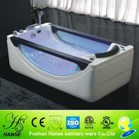 HS-B268 colorful air jet massage single use bathtub for dubai