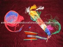 "Tibetan Musical Instrument ""Damaru"""