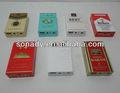 caja de cigarrillos mini portátil de altavoces usb