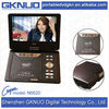 OEM portable evd dvd player in Red black pink colors