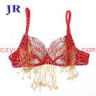 Plus size belly dance bra Indian dance costume wholesale Mei Shu Lan Na Bra YD025#