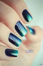 CBD new colors finger nail art foil adhesive polish gel wholesale