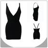fall fashion jacquard black hl sexy party dresses