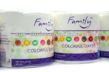 Family Toilet Tissue Roll