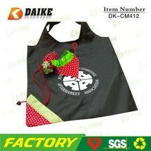 Eco High Quality Foldable Strawberry promotion trade show bag DK-CM412