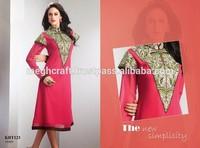 Pakistani Emborderied Designer Kurti-Bollywood fashion Designer Kurtis-chiffon Kurtis-Wholesale Georgette Tops