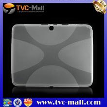For galaxy tab 3 case,Skidproof X Shape Gel TPU Case for Samsung Galaxy Tab 3