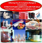 Stretch Film Clear & Color For Sale
