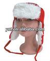 2014 de moda de navidad/x'mas accesorios/decoración- sombrero de felpa