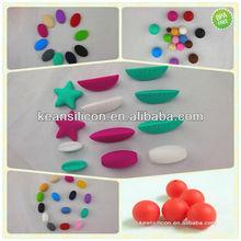 Bubble Beads BPA Free/Wholesale Custom Silicone Teething Beads Bulk Goods