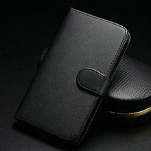 genuine leather wallet phone case for n7100, phone case for note 2, leopard case for galaxy note 2