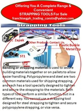Strapping Tools For Sale