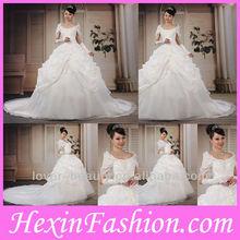 2013 Wholesale Women Elegant White Designer Wedding Dresses
