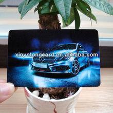car advertising promotional card printing