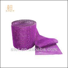 HZSTET wholesale hotasale gift floral mesh wrap