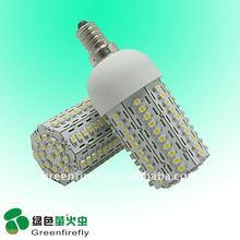 Best selling bedroom lighting 100 LEDs 6W led corn light E27/E26/E14/B22 with CE&RoHS
