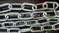 Ferro corrente de aço link, zinco galvanizado soldado da ligação chain, fonte da fábrica