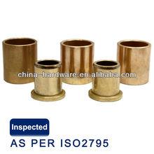 Piezas de motor de arranque de aceite de bronce sinterizado de buje, Auto arranque piezas de polvo metalurgia de chapa de bronce rodamiento arbusto