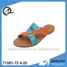 Comfortable spa slippers,summer flat women sandal