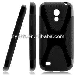 x line tpu case for s4 mini i9190 cover,for samsung s4 mini protective case