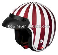 new year small half face cheap motorbike helmet
